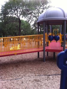 Fantastic park for toddlers!
