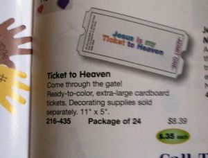 A Ticket to Heaven... The Worst Idea I've Seen in a Long, Long Time.